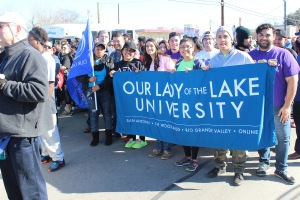 University community present at this year's Martin Luther King Jr. March